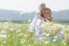 Mother with daughter Stock Photos
