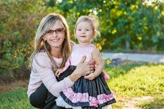 Mother and daughter having fun Stock Photos