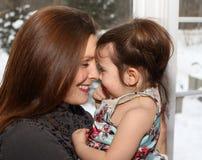 Mother and daughter having fun Royalty Free Stock Photos