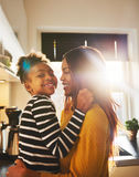 Mother and daughter having fun Stock Photos