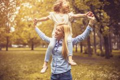 Day for play in park. royalty free stock photography