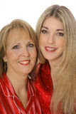 Mother daughter headshot Stock Images