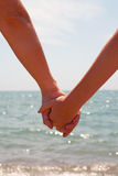 Mother and daughter holding hands Royalty Free Stock Photo