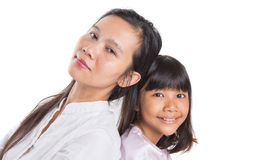 Mother and Daughter IX Stock Photo