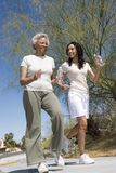 Mother And Daughter Jogging Together Royalty Free Stock Photography