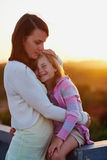 Mother daughter love Stock Image