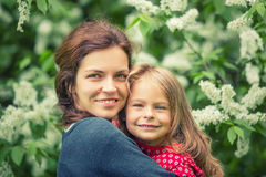 Mother with daughter Stock Image