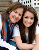 Mother Daughter Outing Stock Photo