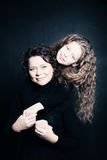 Mother and Daughter. Parental Love Stock Photo