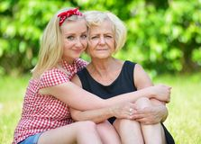 Mother and daughter. Stock Image