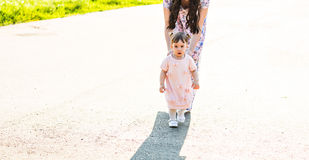 Mother and daughter in the park Royalty Free Stock Images