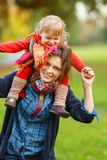 Mother and daughter in the park Royalty Free Stock Photos