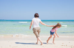 Mother and daughter play Royalty Free Stock Photo