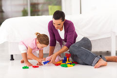 Mother daughter playing Royalty Free Stock Photo