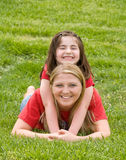Mother Daughter Playing Royalty Free Stock Image