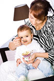 Mother and daughter portrait Stock Photography