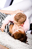 Mother and daughter portrait Royalty Free Stock Images