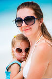 Mother and daughter portrait Royalty Free Stock Photography