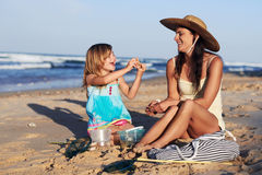 Mother daughter quality time Royalty Free Stock Images