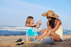 Mother daughter quality time Royalty Free Stock Photography