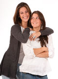 Mother daughter relationship Royalty Free Stock Photos