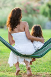Mother and daughter. Stock Images