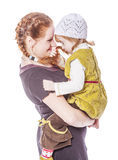 Mother and daughter Secrets royalty free stock images
