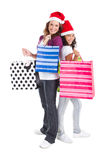Mother daughter shopping Royalty Free Stock Image