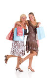 Mother, daughter shopping Royalty Free Stock Image