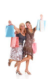 Mother, daughter shopping Royalty Free Stock Photo