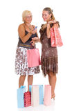 Mother, daughter shopping Stock Photo