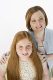 Mother And Daughter Smiling Together Royalty Free Stock Photo