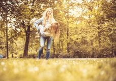 Sunny beautiful day in nature. royalty free stock photography