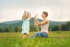 Mother and daughter time Royalty Free Stock Photo