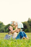 Mother and daughter time Royalty Free Stock Image