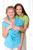 Mother and daughter together Royalty Free Stock Photos