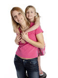 Mother Daughter Togetherness royalty free stock images