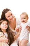 Mother and daughters Royalty Free Stock Photo