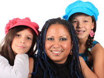 Mother and daughters Royalty Free Stock Image