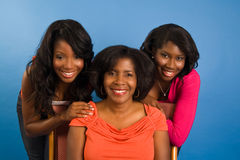 Mother and Daughters Stock Images