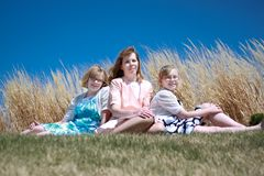 Mother & Daughters Royalty Free Stock Photos