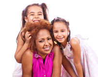Mother and daughters Stock Photography