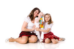 Mother with daughters Stock Photos