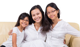 Mother and Daughters I Royalty Free Stock Images