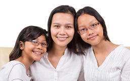 Mother and Daughters II Royalty Free Stock Photo