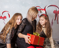 Mother with daughters Royalty Free Stock Photography