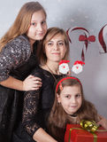 Mother with daughters Royalty Free Stock Photos