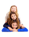Mother with daughters Stock Photography
