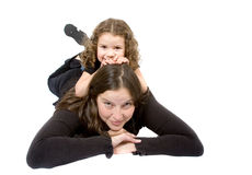Mother and daugther Stock Image