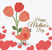 Mother day design, vector illustration. Stock Image